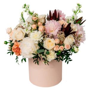 """Цветы в коробке """"Мечты о Париже"""""""